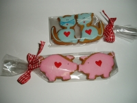 Valentínske medovníky