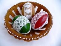 Veľkonočné medovníkové vajíčka